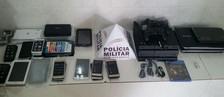 Adolescente tenta furtar loja e é flagrado dormindo (Polícia Militar Juiz de Fora/Divulgação)