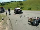 Motociclista fica ferido em acidente em Joanópolis, SP
