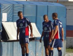 Douglas Tanque, Renato Peixe e Bruno Formigoni (Foto: Filipe Rodrigues)