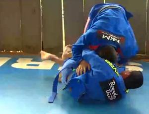 Júlio César, lutador de jiu-jítsu de RO (Foto: Reprodução/ TV Rondônia)