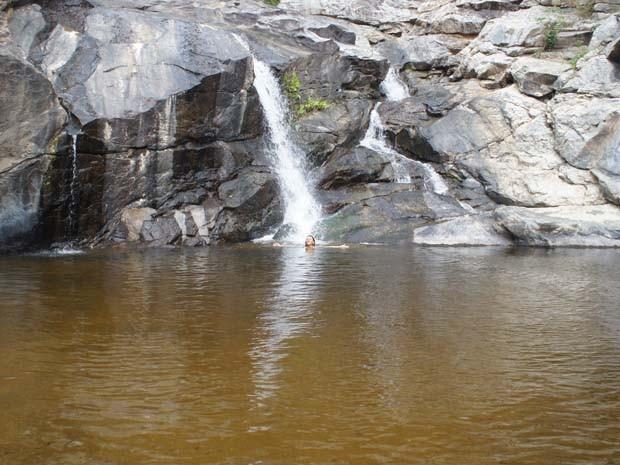 A Cachoeira do Ouricurí é uma das opções de aventura que Pilões oferece (Foto: Teresa Duarte/Divulgação)