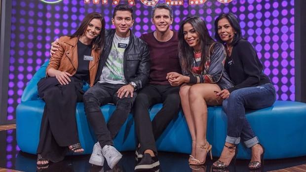 Tamanho Família: programa recebe Anitta e Arthur Aguiar (Artur Meninea / Globo)
