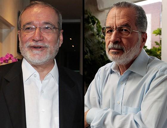 Geraldo magela e Everardo Maciel  (Foto:  Ailton de Freitas/ Agência O Globo e Igo Estrela/ Editora Globo)