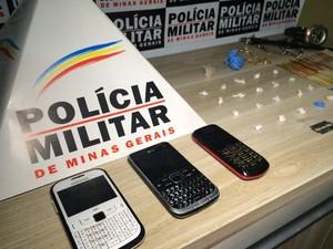 Tráfico de drogas Araxá (Foto: Willian Tardelli/Divulgação)