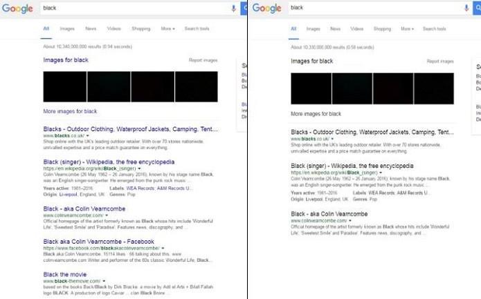 Mudança de interface da Google (Foto:Reprodução/The Next Web)
