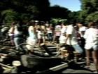 Protesto pede redução da tarifa de ônibus em Aracruz, ES