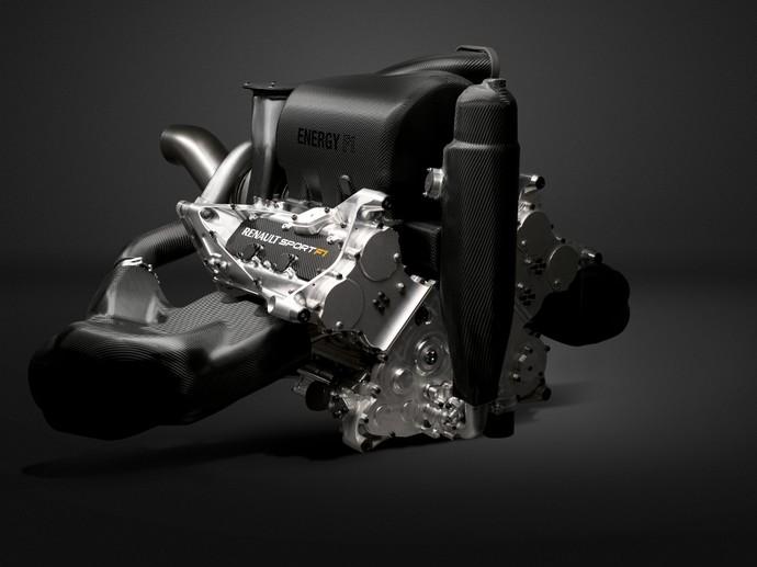 Renault Energy F1-2015, o motor que equipa carros da RBR e da STR nesta temporada (Foto: Divulgação)