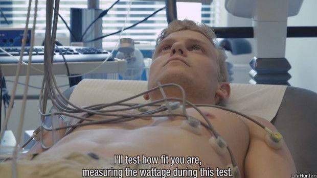 Exames mostraram uma melhora em sua saúde após o experimento  (Foto: LifeHunters)