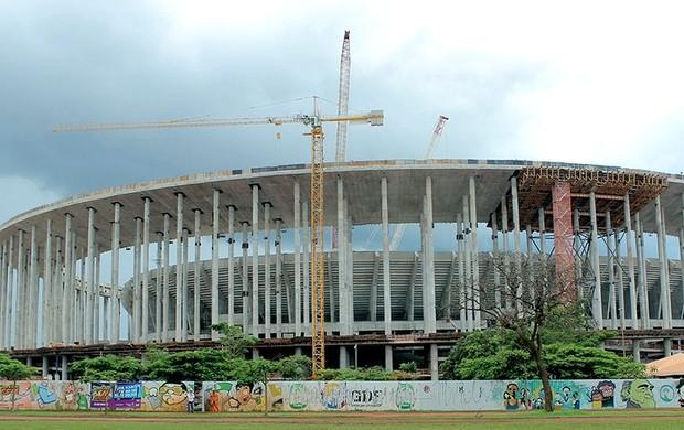 obras estádio Nacional Brasília Copa 2014 Fifa (Foto: Divulgação / FIFA.com)