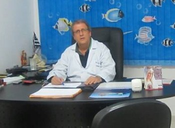 João Fanuchi, pediatra Daniel Dias (Foto: Reprodução / Facebook)