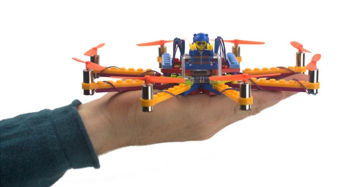 Kit Ajuda A Montar Drone Com Peças De Lego Em Apenas 15 Minutos
