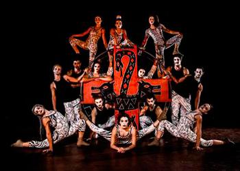 Cena da peça 'Gira' (Foto: divulgação)