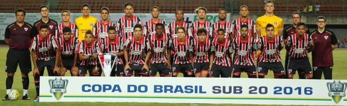 São Paulo Copa do Brasil Sub-20 (Foto: Divulgação/São Paulo FC)