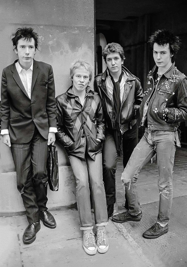 Sex Pistols punk rock band seen here in a London  Circa 1976 (Newscom TagID: mrpphotos021765) [Photo via Newscom] (Foto: Mirrorpix)