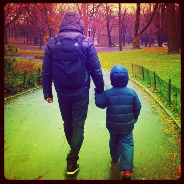 Cassio reis e Noah  (Foto: Reprodução/ Instagram)