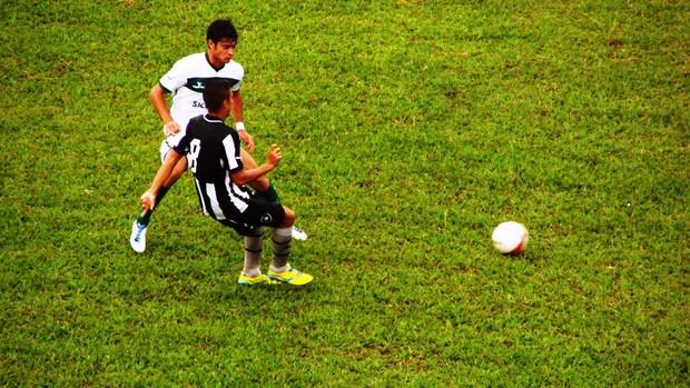 Botafogo e Gama pela Copinha (Foto: Filipe Rodrigues/ Globoesporte.com)