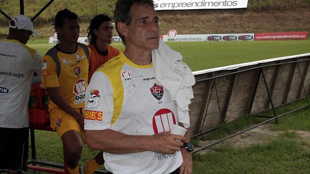 Carpegiani, treino, Vitória (Foto: Divulgação/ EC Vitória)