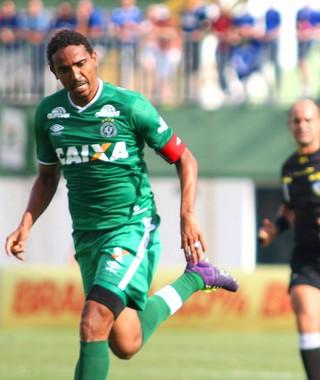 Rafael Lima e Marcelo Moreno, chapecoense X Cruzeiro (Foto: Alan Pedro / Gett Images)