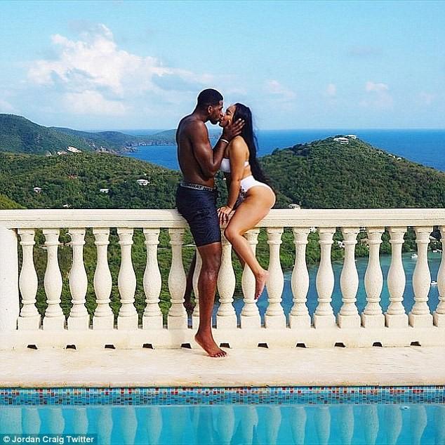 Tristan Thompson e Jordan Craig namoraram por cerca de 3 anos (Foto: Reprodução/Instagram)