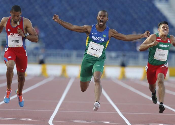 Próximo compromisso de atleta de Presidente Prudente será no revezamento 4x100 (Foto: Marcelo Regua / MPIX / CPB)