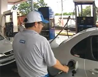 Posto vende gasolina a R$ 2,20 (Foto: Reprodução)