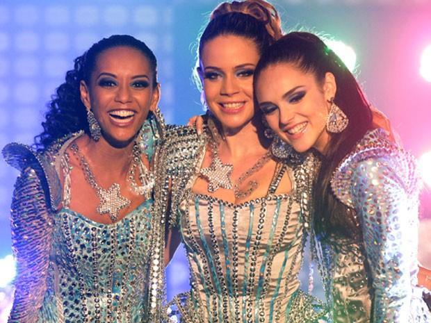 Empreguetes: inspiração futurista (Foto: Cheias de Charme / TV Globo)