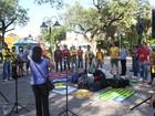 Ato marca início da XIII Marcha contra a Corrupção e pela Vida no Piauí