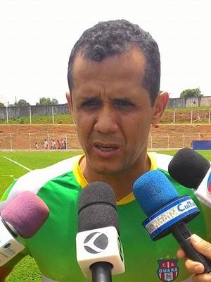 Técnico Celisvaldo Pezão Guará Campeonato Amador de Uberlândia 2 (Foto: Lucas Papel)