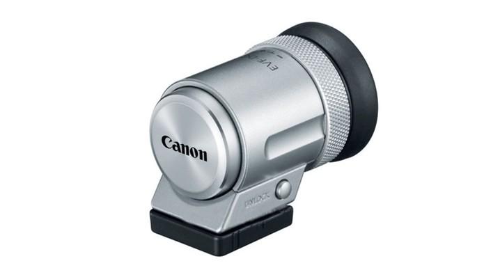 Viewfinder para Canon M6 pode ser adquirido como acessório (Foto: Divulgação/Canon)