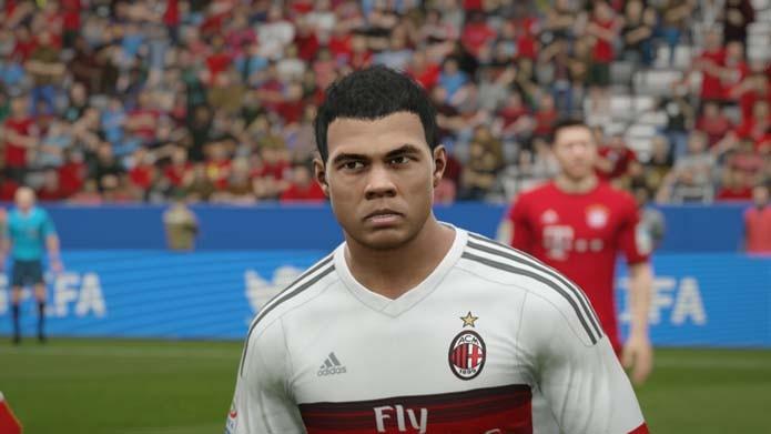 Colombiano parece genérico em Fifa 16 (Foto: Reprodução/Murilo Molina)