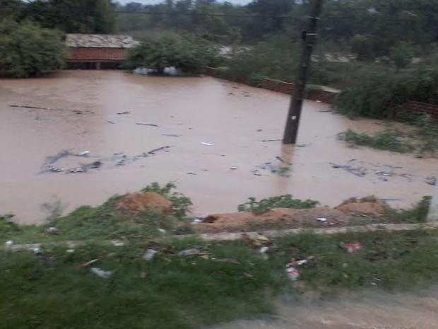 Chuva Forte Causou Inunda Es No Munic Pio De Cristino Castro Foto