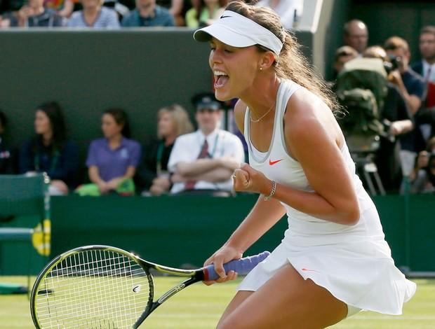 Tênis Michelle Larcher De Brito  Wimbledon (Foto: Agência Reuters)