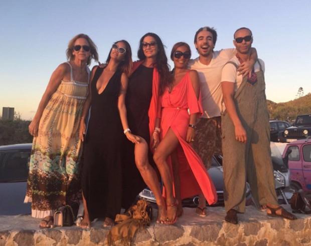 Luiza Brunet em Ibiza (Foto: Reprodução)