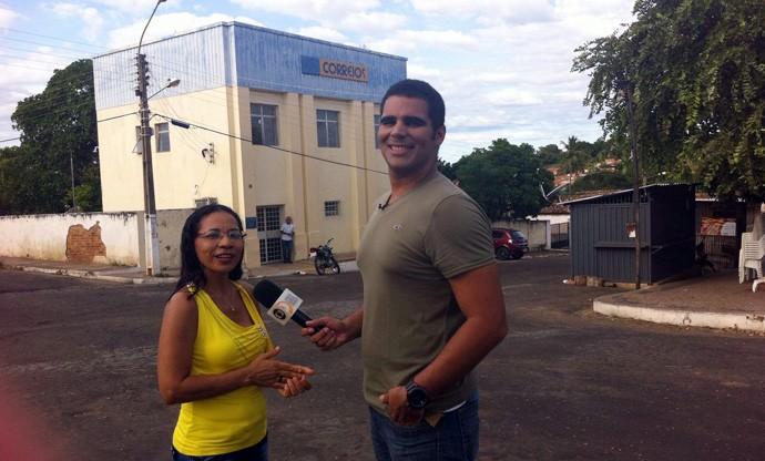 Professora Celina explica que o nome se chamava Coroatá (Foto: Gshow/Rede Clube)