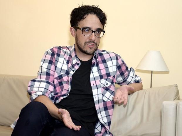 Alisson Gomes, segundo eliminado do 'BBB 14' (Foto: Roberto Teixeira/ EGO)