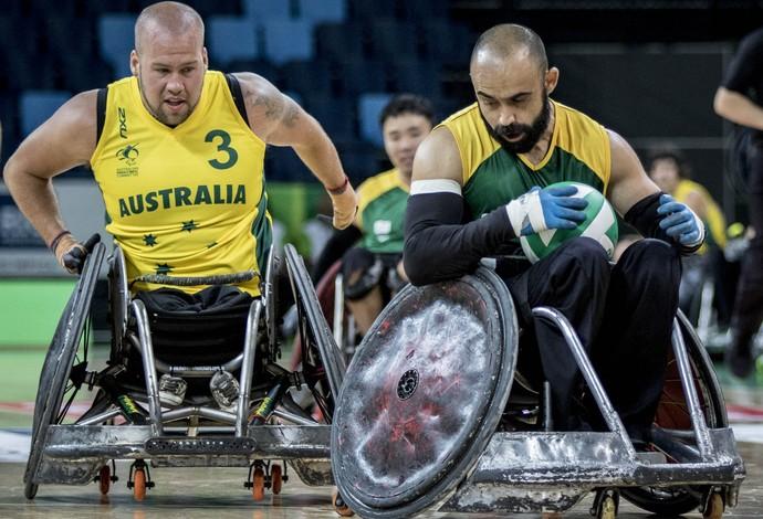 Ryley Batt, austrália, rúgbi em cadeira de rodas (Foto: Daniel Zappe/MPIX/CPB)