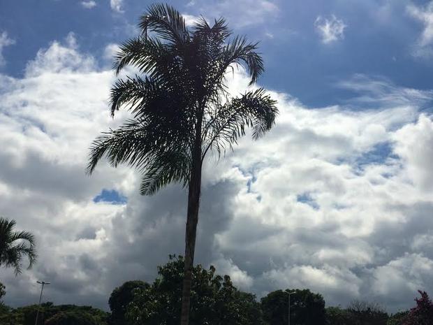 Tempo permanece instável em MS, diz Inmet (Foto: Isabela Cavalcante / G1 MS)