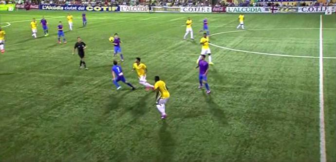 Frame-Brasil X Levante - Sub-20 (Foto: Reprodução)