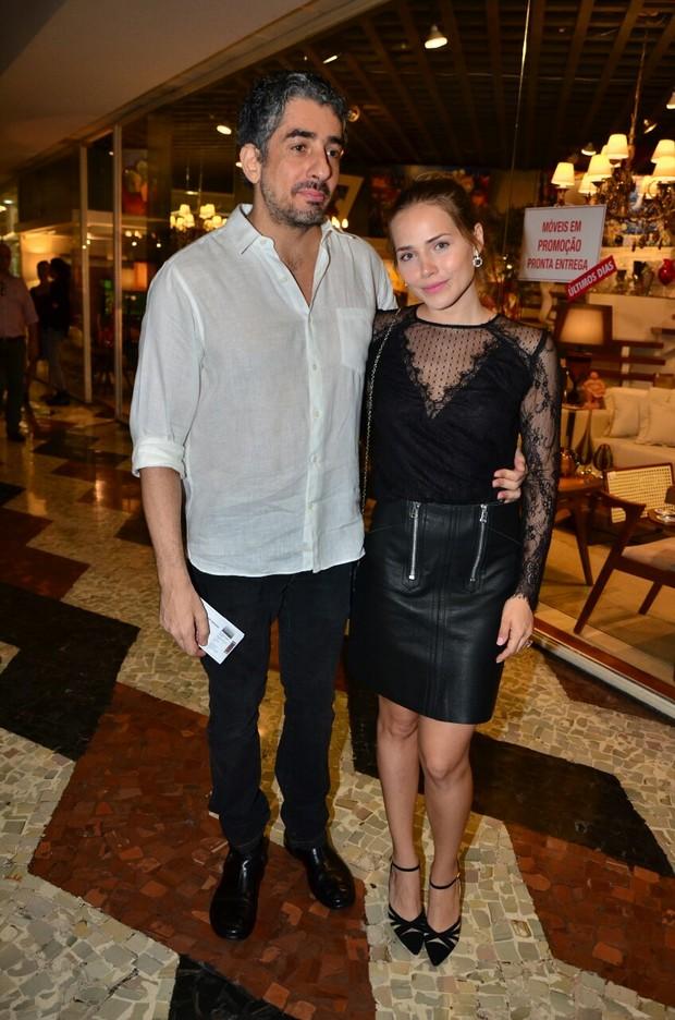 Michel Melamed e Leticia Colin (Foto: Webert Belicio/Agnews)