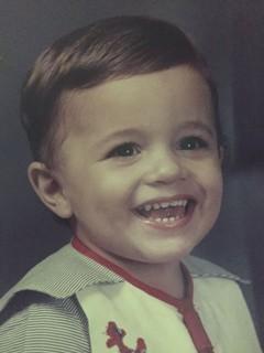 Edgar Neto quando era criança (Foto: Arquivo pessoal)
