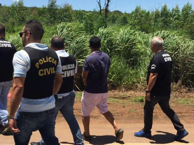 Suspeito de matar professora indica local em que deixou corpo da vítima Goiás Anápolis Nerópolis (Foto: Divulgação/Polícia Civil)