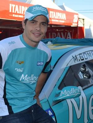 Marcos Gomes, piloto ribeirão-pretano de Stock Car (Foto: Cleber Akamine / Globoesporte.com)