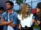 Pura adrenalina! Confira a aventura de Juliana Paiva e Rodrigo Simas no detalhe
