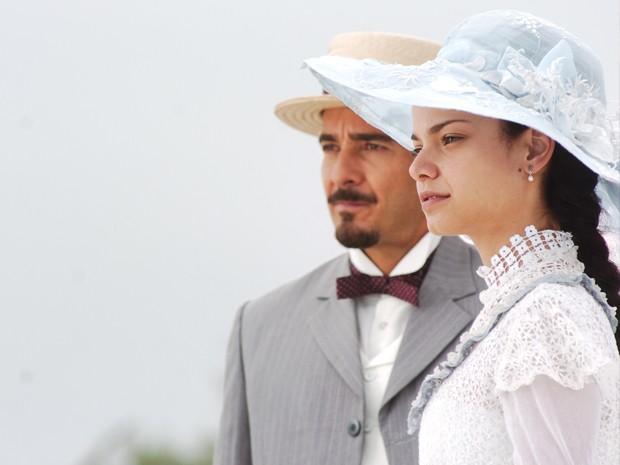 Alexandre Borges e Milena Toscano (Foto: CEDOC/TV Globo)
