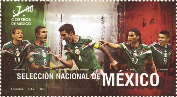 Selo do México (Foto: Reprodução/Correos de México)