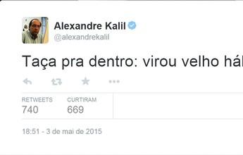 """Kalil mantém tradição e comemora título estadual do Galo: """"Velho hábito"""""""