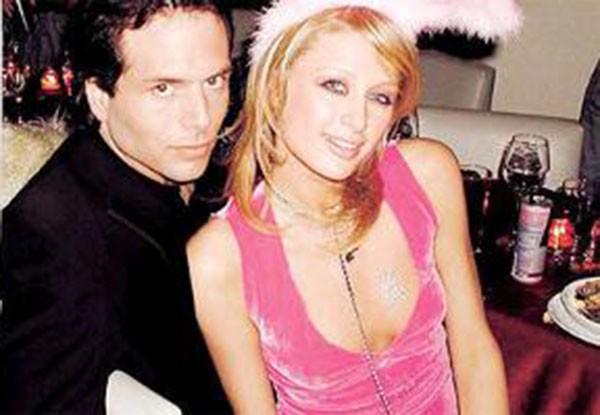 Paris Hilton e Rick Salomon (Foto: Reprodução)