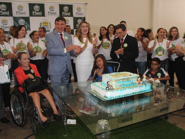 Centro Integrado de Reabilitação comemora 1 milhão de atendimentos (Foto: Gilcilene Araújo/G1)