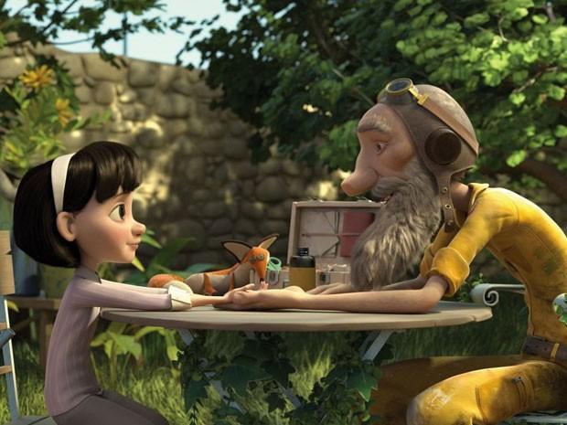 Cena da animação 'O pequeno príncipe', de Mark Osborne (Foto: Divulgação)