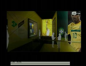Museu da CBF (Foto: Reprodução SporTV)